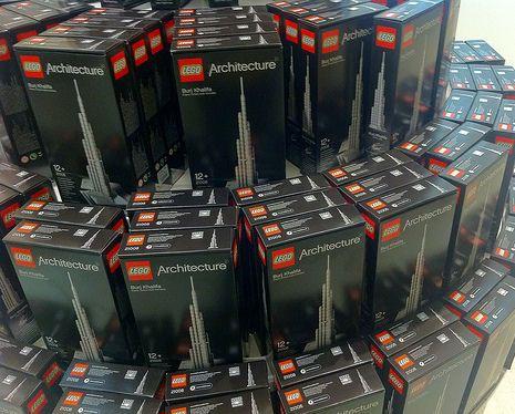 Burj Khalifa Lego