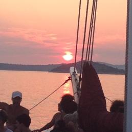 Boat trip in Croatia 2015