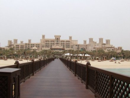 View of Al Qasr Hotel Dubai 2008