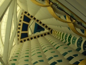Inside Burj Al Arab Hotel Dubai 2007