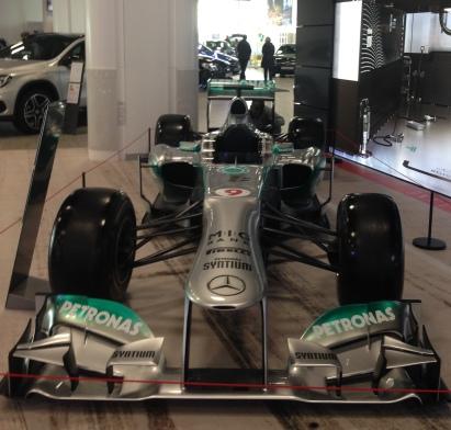 Nico Rosberg's F1 car