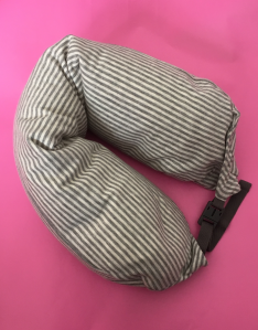 mywonderfulworld.co.uk - Sleeping on a plane is a myth to me - neck pillow