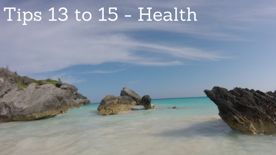 Health Tips to help you save for an amazing holiday at www.mywonderfulworld.co.uk