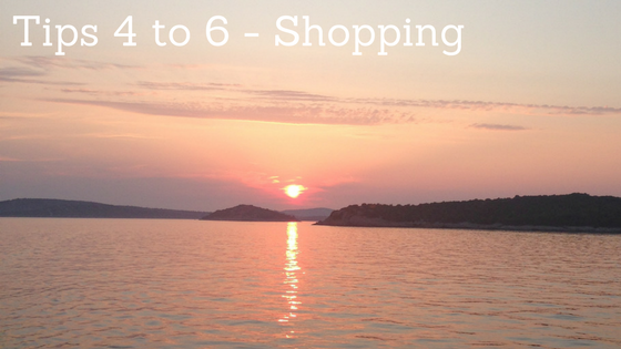 Shopping Tips to help you save for an amazing holiday at www.mywonderfulworld.co.uk