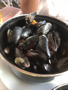 Le Collins Pot of Mussels at www.mywonderfulworld.co.uk