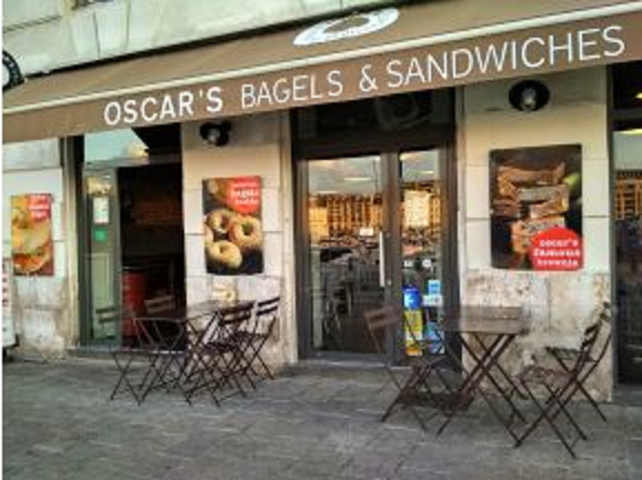 Oscar's Bagels review at www.mywonderfulworld.co.uk